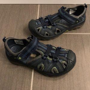 Boys Merrells Hydro Hiker sandals